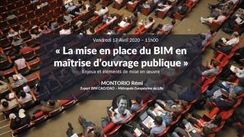 La mise en place du BIM en maîtrise d'ouvrage publique avec Remi Montorio