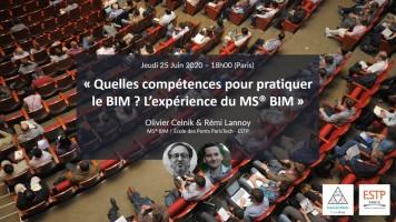 Quelles compétences pour pratiquer le BIM ? l'expérience du MS® BIM
