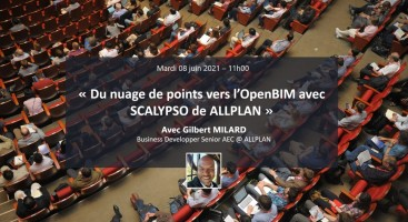 Du nuage de points vers l'OpenBIM avec SCALYPSO de ALLPLAN