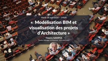 A venir : Modélisation BIM et visualisation des projets d'Architecture avec Thierry Sampol