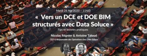 Vers un DCE et DOE BIM structurés : Tips et bonnes pratiques avec Nicolas Régnier et Antoine Taloud