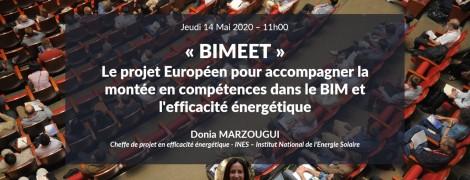 BIMEET, le projet Européen pour accompagner la montée en compétences dans le BIM et l'efficacité énergétique