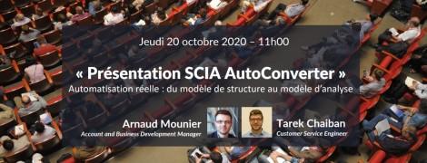 Scia AutoConverter : du modèle de structure au modèle d'analyse