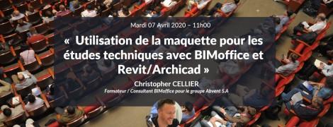 DCE BIM : Utilisation de la maquette pour les études techniques avec BIMoffice et Revit/Archicad
