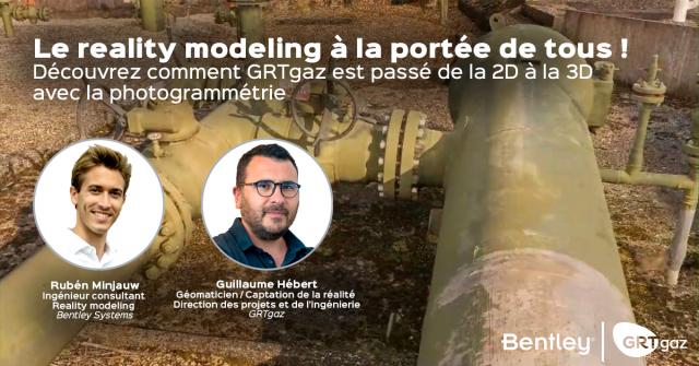Le reality modeling à la portée de tous : découvrez comment GRTgaz est passé à la 3D avec la photogrammétrie