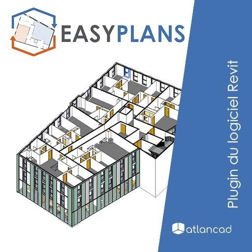 Atlancad lance Easyplans, la solution pour automatiser vos plans de vente sous Revit