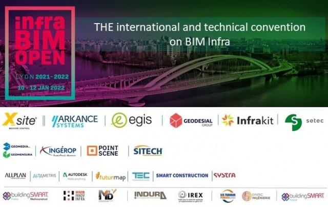 report InfraBIM open, le congrès à ne pas manquer
