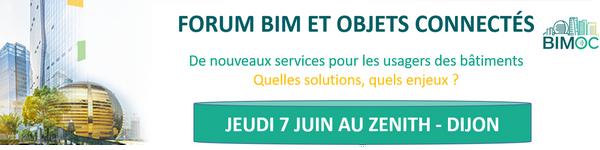Découvrez le programme du Forum BIM et Objets Connectés