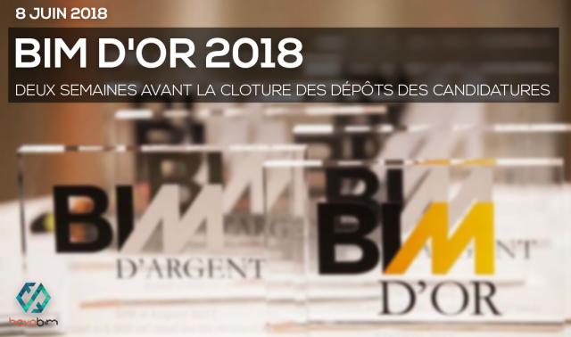 Deux semaines avant la cloture des dépôts des candidatures pour la 5e édition BIM d'OR 2018