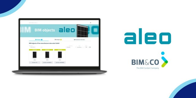 Les objets BIM d'aleo solar créés et diffusés sur la plateforme bimandco.com