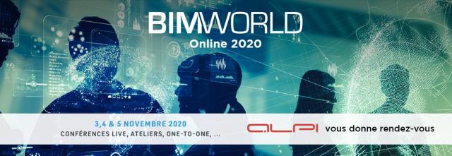 BIM WORLD Online 2020 - ALPI vous donne RDV