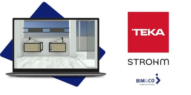 Strohm Teka, entreprise spécialisée dans les solutions globales pour la salle de bain, fait confiance à BIM&CO