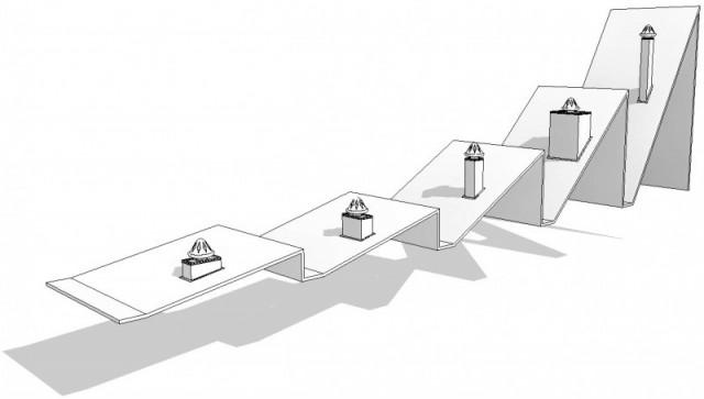 Famille Souche de toiture paramétrique