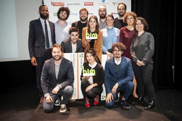 Les 3 projets-lauréats du concours BIM : Nouvel Air, Le Collège Beaudouin & Lods et l'École à Mobilité Augmentée