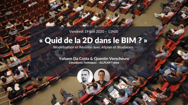 Quid de la 2D dans le BIM ? Modélisation et Révision avec Allplan et Bluebeam