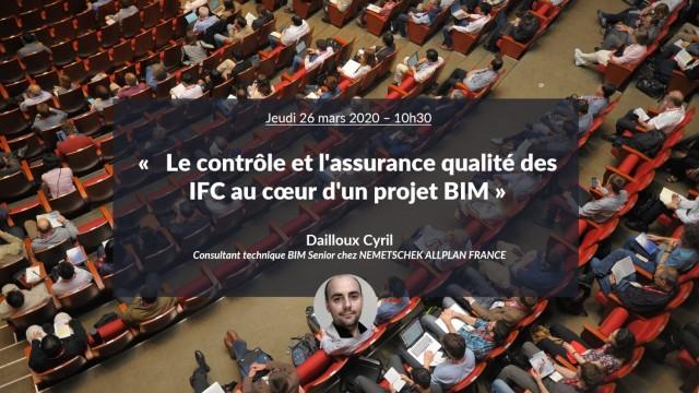 Le contrôle et l'assurance qualité des maquettes numériques IFC avec Cyril DAILLOUX