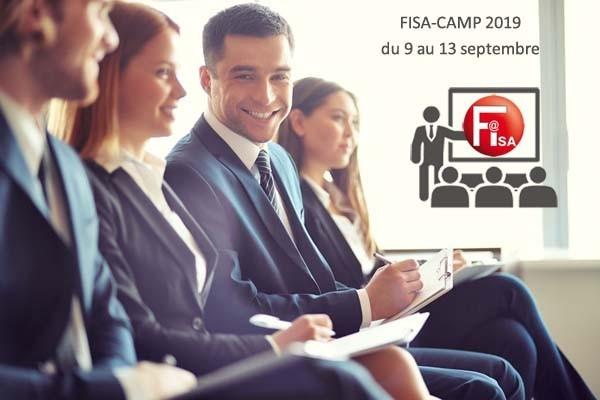 FISA CAMP 2019 du 9 au 13 septembre