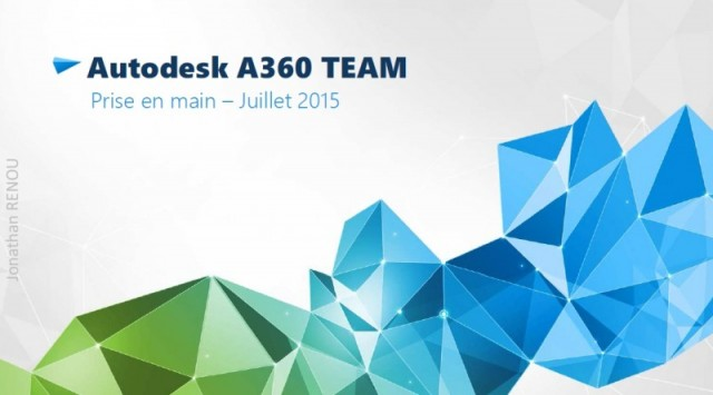 Prise en main de Autodesk A360 team