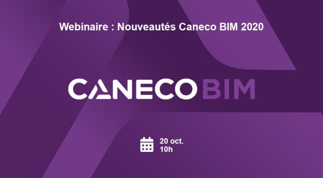 Webinaire : Nouveautés Caneco BIM 2020 !