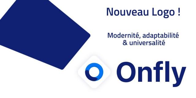 Nouveau logo Onfly : Modernité, adaptabilité & universalité