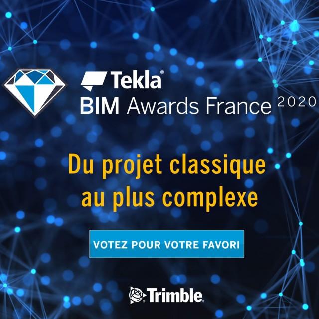 Tekla BIM Awards France 2020 !