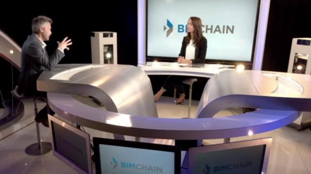 BIM, données et blockchain avec BIMchain sur BFM TV
