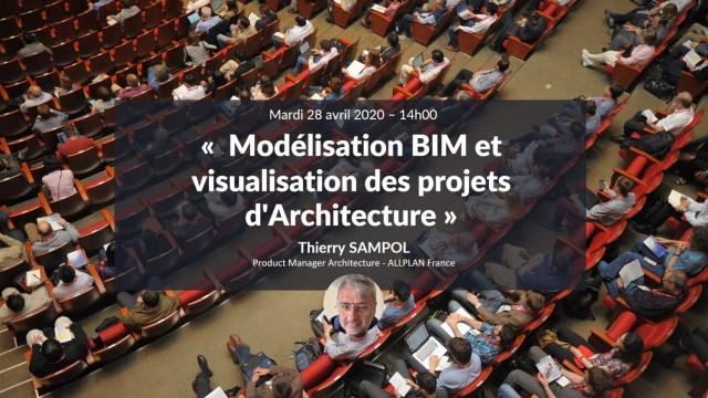 Modélisation BIM et visualisation des projets d'Architecture sur Allplan avec Thierry Sampol