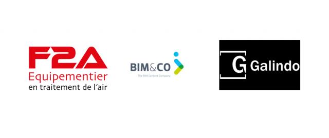 F2A et GRIFERÍAS GALINDO diffusent désormais leurs objets BIM sur BIM&CO