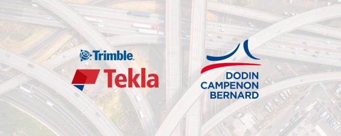Tekla Structures pour la modélisation d'infrastructures routières chez Dodin Campenon Bernard