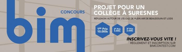 Le concours BIM 2018 par Polantis : édition Suresnoise
