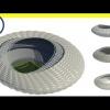 Parametric stadium - Computational Design ( Using Dynamo)
