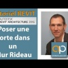 Tutoriel REVIT Architecture Français : Insérer une porte dans un mur rideau