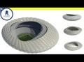 Learn how to model a parametric stadium - Computational Design ( Using Dynamo)