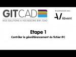 REVIT 01  Contrôler le géo-référencement du fichier IFC Archicad reçu