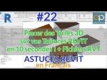 Tuiles 3D  de toiture REVIT : Comment faire une toiture avec tuiles en 3D facilement ? #REVIT