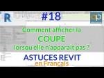 Comment afficher/tracer une ligne de coupe sur REVIT : Niveaux et vues - Astuces REVIT