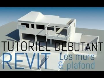 ★ Tutoriel Revit Archi | Construction murs & plafond ★