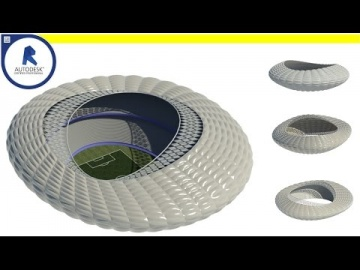 Parametric stadium - Computational Design ( Using Dynamo)