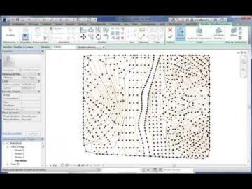 Modéliser une surface topographique dans Revit en un temps records