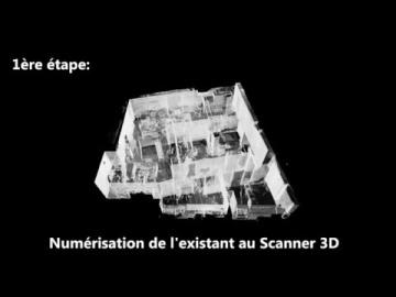 Du nuage de points à la maquette numérique de l'existant (BIM)