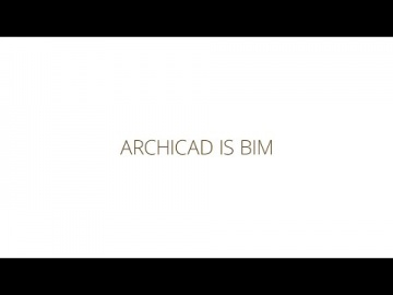 BIM with ARCHICAD