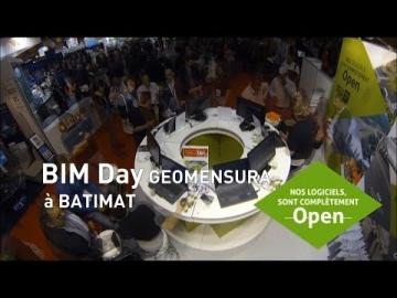 """""""BIM DAY GEOMENSURA"""" BATIMAT 2015"""