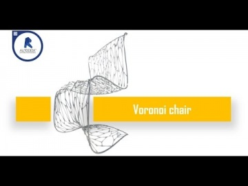 How to create a parametric voronoi chair with Revit and Dynamo
