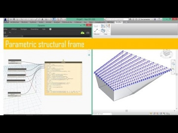Learn in one hour how to create a parametric structural frame with Dynamo