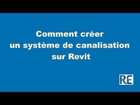 Comment créer un système de canalisation de plomberie sur Revit MEP