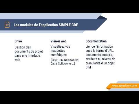 Simple CDE - Collaboration & DOE BIM facile