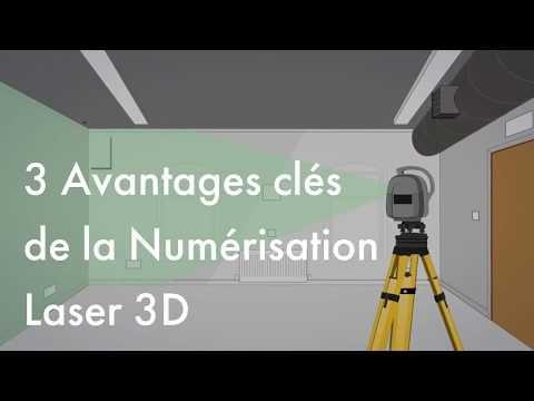 Les 3 principaux avantages de la numérisation 3D