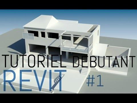 Tutoriel complet Revit Architecture | Conception d'un projet