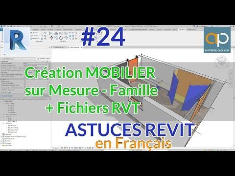 Créez un mobilier sur mesure en partant d'un croquis avec REVIT
