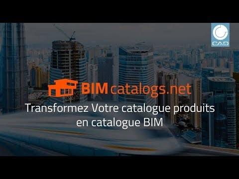 Transformez Votre catalogue de produits en catalogue BIM